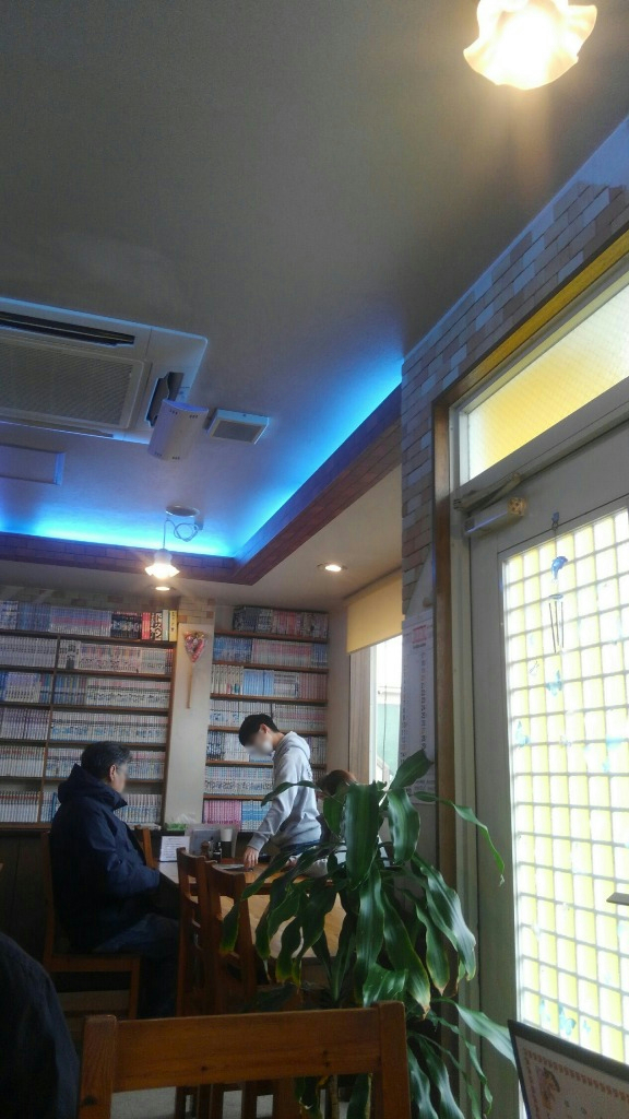 レストラン141店内漫画